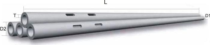 Стойки опор конические центрифугированные